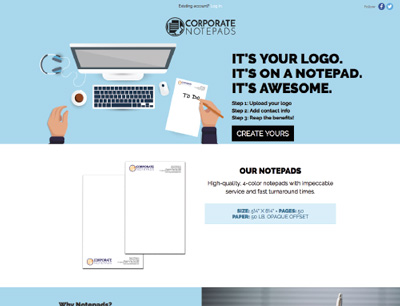 Corporate Notepads
