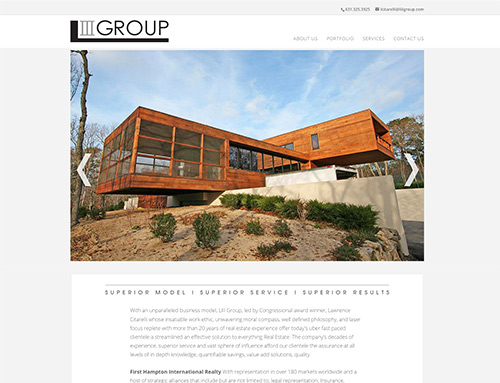 Lawrence III Group Web Design